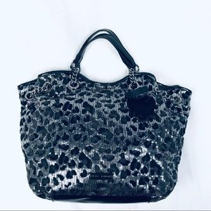 Betsy Johnson Sequined Tote Bag
